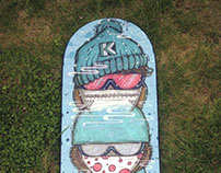 Balance training board by Ketom Place design