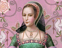 Anne Boleyn Six Tudor Queens Cover Art portrait