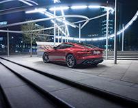 Jaguar F-Type CGI + Photography