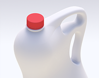 DROPS Concept: 6pints Milk Bottle