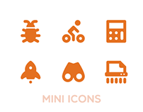 Simple Mini Icons Pack