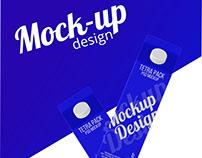 Free Tetra Pack Mockup