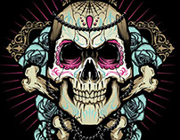 Sugar Skull Vector Session