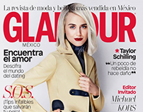 Taylor Schilling for Glamour Magazine by Rachell Smith