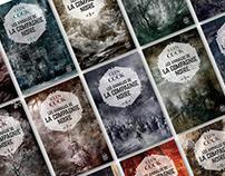 Glenn Cook - La Compagnie Noire - Book cover design