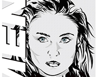 Jean Gray - Sophie Turner