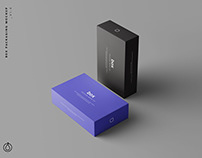 Box Packaging Mockup (PSD)