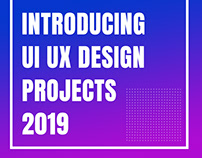 UI UX design for website 2019