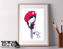 Cute illustrations Graphic