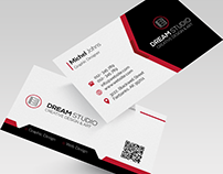 Clean Corporate Business Card