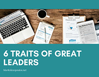 6 Traits of Great Leaders