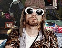 Kurt Cobain Digital Painting
