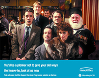 Home Office - Only Fools & Horses Paper Purge Campaign