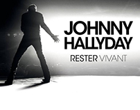 JOHNNY HALLYDAY / Rester Vivant Tour 2015