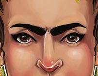 My interpretation of Frida Kahlo