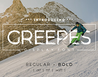 Greepes Display Font