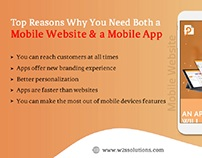 Top Reasons Why You Need a #MobileWebsite & #MobileApp
