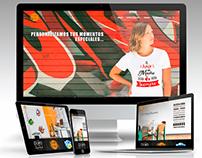 Diseño de sitio web de e-commerce para @DaikoVinilos