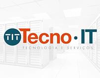 Identidade Visual Tecno IT - Tecnologia e Serviço