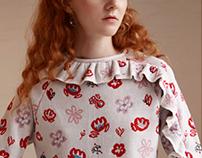 Knitwear print/textiles design for Sabinna S/S 2018