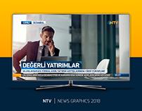 NTV | NEWS GRAPHICS AND MAIN DESIGNS