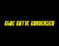 Glue Gotik Condensed - Free Font