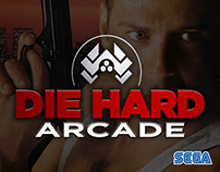 Die Hard Arcade | Alternate Logo & Cover Concept