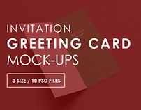 Greeting Card Mock-Ups