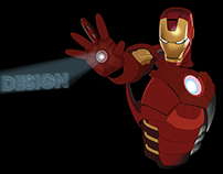 Illustrator - Iron Man