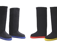 The Wool Tower Boots in Case of Very Cold Feet