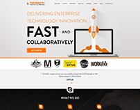 Web Design Concept for Terem Technologies
