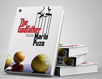 Redesign de Livro - The Godfather, Mario Puzo