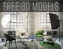 DIESEL STUDIO | FREE 3D MODELS