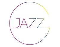 Logo for radio jazz show GJAZZ by Giel Beelen.