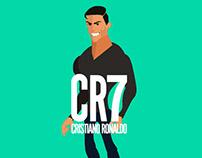 CR7 footwear GIF