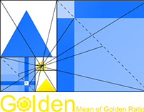 Logo: Golden Mean of Golden Ratios - Part 2