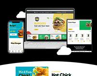 The Cloud Kitchen | E-Commerce website