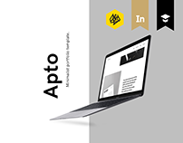Apto - Minimalist Portfolio - D&AD New Blood 2017 Brief