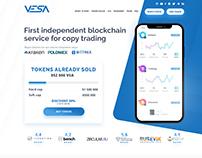 VESA First independent blockchain service
