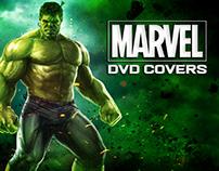 Marvel Films. DVD Covers