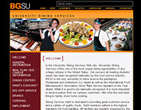 BGSU Dining Services Website