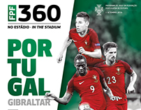 FPF . Portugal-Gibraltar . Official Match Programme