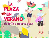 La Plaza en Verano (design proposal)