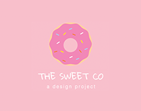Web design project for The sweet co.