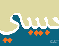 """Habibi"" Arabic Typography"