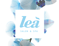 Lea Salon and Spa - Branding