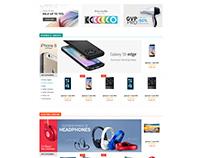Shopify theme & Magento theme for electronics store
