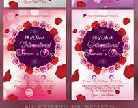 International Women's Day Flyer Template