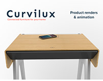 Curvilux - Product renders & Animation