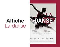 La danse - poster redesign